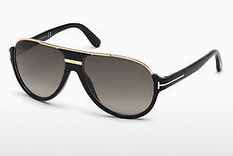 Óculos de marca Tom Ford Dimitry (FT0334 01P) - Preto, Shiny
