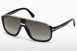 Óculos de marca Tom Ford Eliott (FT0335 01P) - Preto, Shiny