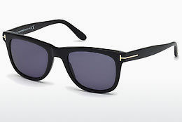 Óculos de marca Tom Ford Leo (FT0336 01V) - Preto, Shiny