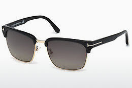 Óculos de marca Tom Ford River (FT0367 01D) - Preto, Shiny