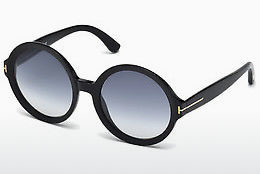 Óculos de marca Tom Ford Juliet (FT0369 01B) - Preto, Shiny