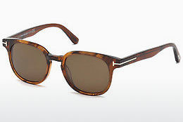 Óculos de marca Tom Ford Frank (FT0399 48B) - Castanho, Dark, Shiny