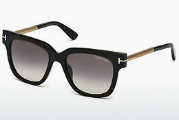 Óculos de marca Tom Ford Tracy (FT0436 01B) - Preto, Shiny