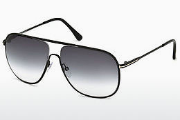 Óculos de marca Tom Ford Dominic (FT0451 02B) - Preto, Matt