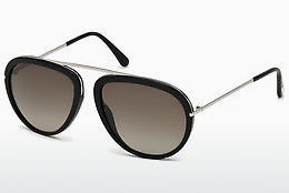 Óculos de marca Tom Ford Stacy (FT0452 01K) - Preto, Shiny