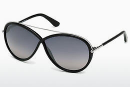 Óculos de marca Tom Ford Tamara (FT0454 01C) - Preto, Shiny