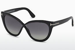 Óculos de marca Tom Ford Arabella (FT0511 01D) - Preto, Shiny