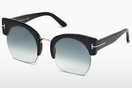 Óculos de marca Tom Ford Savannah (FT0552 01W) - Preto, Shiny