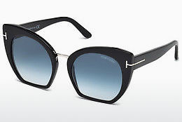 Óculos de marca Tom Ford Samantha (FT0553 01W) - Preto, Shiny