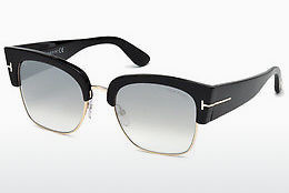 Óculos de marca Tom Ford Dakota (FT0554 01C) - Preto, Shiny