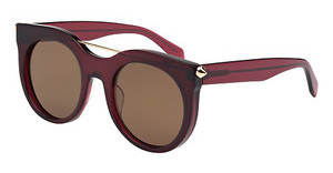 Alexander McQueen AM0001S 004 BROWNRED