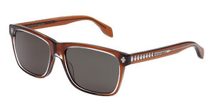 Alexander McQueen AM0025S 004 GREENBROWN