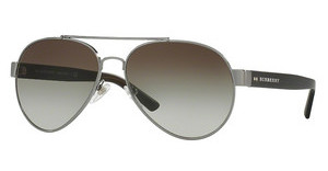 Burberry BE3086 10083Y GREEN GRADIENTBRUSHED GUNMETAL