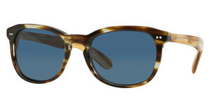 Burberry BE4214 355180 DARK BLUEBROWN HORN