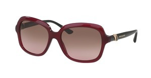 Bvlgari BV8176B 533314 VIOLET GRADIENT BROWNRED