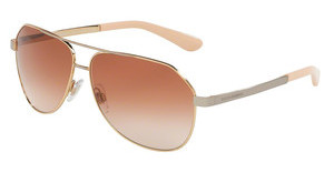 Dolce & Gabbana DG2144 129313 BROWN GRADIENTPINK GOLD
