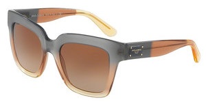 Dolce & Gabbana DG4286 307413 BROWN GRADIENTGRAD BROWN/CARAMEL/YELLOW