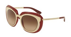 Dolce & Gabbana DG6104 304413 BROWN GRADIENTPALE GOLD/PINK