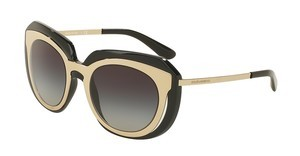 Dolce & Gabbana DG6104 501/8G GREY GRADIENTPALE GOLD/BLACK