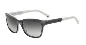 Emporio Armani EA4004 50488G GRAY GRADIENTSTRIPED GRAY/LIGHT GRAY