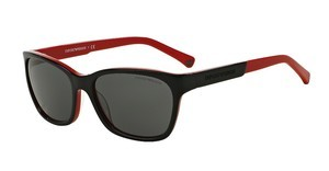 Emporio Armani EA4004 506187 GREYTOP BLACK ON RED