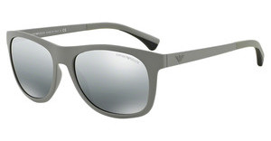 Emporio Armani EA4034 526288 GREY MIRROR SILVER GRADIENTMATTE LIGHT GREY