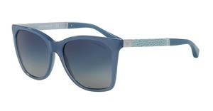 Emporio Armani EA4075 55054L LIGHT GREY GRAD DARK BLUEOPAL AZURE BLUE