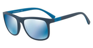 Emporio Armani EA4079 550455 DARK BLUE MIRROR BLUEMATTE BLUE