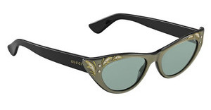 Gucci GG 3807/S U49/5L GREY GREENPRLDGRNBK (GREY GREEN)