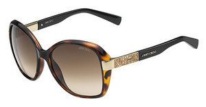 Jimmy Choo ALANA/S EYF/JD BROWN SFHVNA BLCK (BROWN SF)