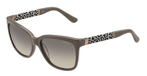 Jimmy Choo CORA/S J33/6P BROWN FL GOLDGRYGLTMUD
