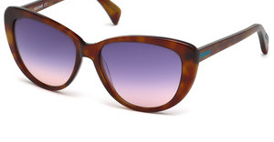 Just Cavalli JC646S 53V blauhavanna blond