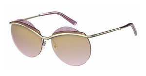 Marc Jacobs MARC 102/S 3YG/ZV BROWN SF SPLGH GOLD