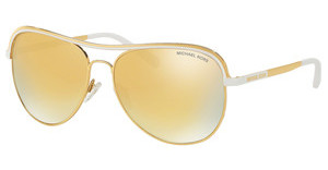Michael Kors MK1012 11127P LIQUID GOLDGOLD/WHITE