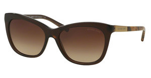 Michael Kors MK2020 311613 SMOKE GRADIENTDARK BROWN TIGERS EYE