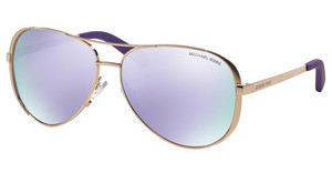 Michael Kors MK5004 10034V PURPLE MIRRORROSE GOLD