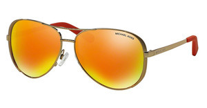 Michael Kors MK5004 10146Q ORANGE MIRRORGOLD-TONE