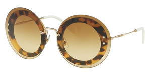Miu Miu MU 10RS 7S01G0 BROWN GRADIENTLIGHT HAVANA