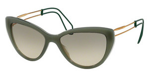 Miu Miu MU 12RS USK3H2 LIGHT BROWN GRAD LIGHT GREENGREEN/GREEN TRANSPARENT