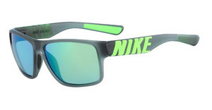 Nike NIKE MOJO SE EV0978 013 MATTE ANTHRACITE WITH VOLTAGE GREEN TEMPLE AND GREY W/ML GREEN  LENS