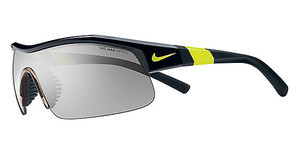 Nike SHOW X1 EV0617 007 BLACK/VOLT WITH GREY W/ SILVER FLASH/OUTDOOR TINT LENS LENS