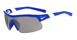 Nike SHOW X1 EV0617 400 GAME ROYAL/WHITE WITH GREY W/SILVER FLASH LENS