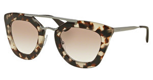 Prada PR 09QS UAO1L0 BROWN GRADIENTSPOTTED OPAL BROWN