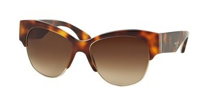 Prada PR 11RS TKR6S1 BROWN GRADIENTHAVANA