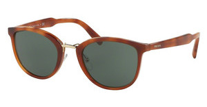 Prada PR 22SS USE3O1 STRIPED LIGHT BROWN