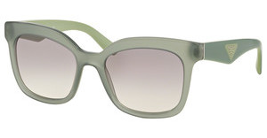 Prada PR 24QS UEI4P2 GREY GRADIENTOPAL DARK GREEN