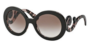 Prada PR 27NS ROL0A6 BROWN GRADIENTTOP BROWN/PINK HAVANA