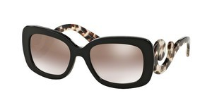 Prada PR 27OS UAO4O0 GRADIENT BROWN MIRROR SILVERBROWN