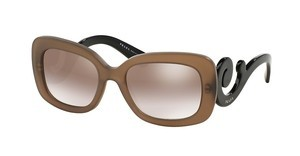Prada PR 27OS UBU4O0 GRADIENT BROWN MIRROR SILVERDARK BROWN MAT TRASP
