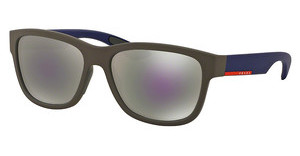 Prada Sport PS 03QS UR62E2 GREY MIRROR BLUEBROWN RUBBER